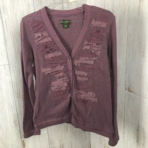 Eddie Bauer Small Long Sleeve Top